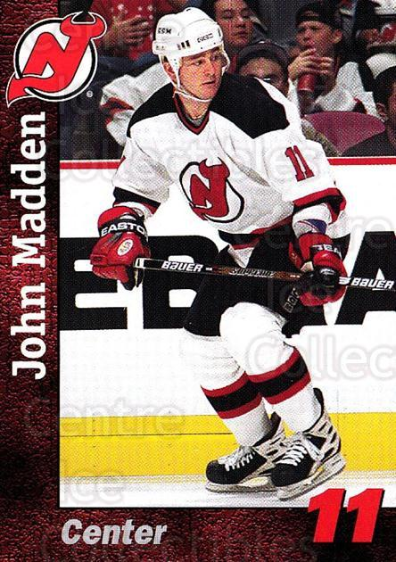 1998-99 New Jersey Devils Team Issue #16 John Madden<br/>1 In Stock - $3.00 each - <a href=https://centericecollectibles.foxycart.com/cart?name=1998-99%20New%20Jersey%20Devils%20Team%20Issue%20%2316%20John%20Madden...&quantity_max=1&price=$3.00&code=384423 class=foxycart> Buy it now! </a>