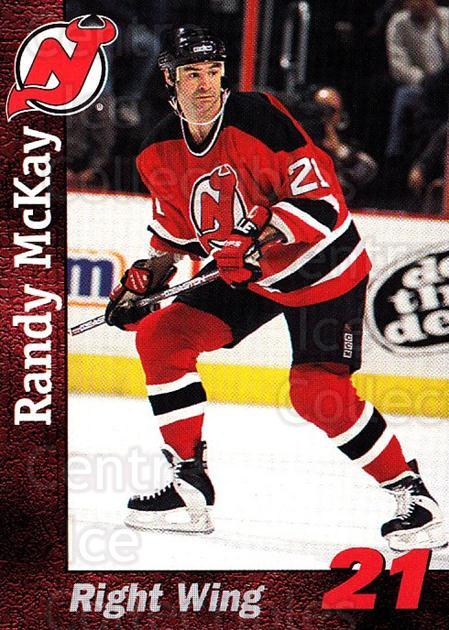 1998-99 New Jersey Devils Team Issue #17 Randy McKay<br/>1 In Stock - $3.00 each - <a href=https://centericecollectibles.foxycart.com/cart?name=1998-99%20New%20Jersey%20Devils%20Team%20Issue%20%2317%20Randy%20McKay...&quantity_max=1&price=$3.00&code=384424 class=foxycart> Buy it now! </a>