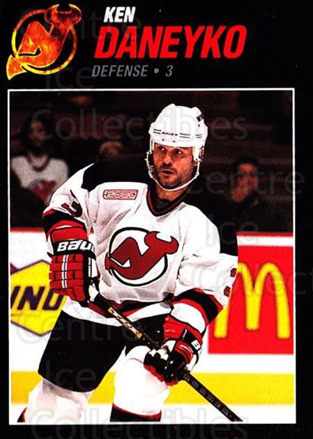 1999-00 New Jersey Devils Team Issue #13 Ken Daneyko<br/>3 In Stock - $3.00 each - <a href=https://centericecollectibles.foxycart.com/cart?name=1999-00%20New%20Jersey%20Devils%20Team%20Issue%20%2313%20Ken%20Daneyko...&quantity_max=3&price=$3.00&code=384450 class=foxycart> Buy it now! </a>
