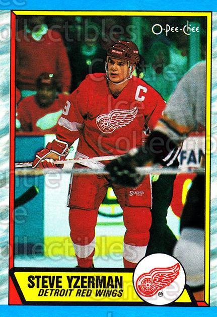 1989-90 O-Pee-Chee Box Bottoms Grey #L Steve Yzerman<br/>1 In Stock - $5.00 each - <a href=https://centericecollectibles.foxycart.com/cart?name=1989-90%20O-Pee-Chee%20Box%20Bottoms%20Grey%20%23L%20Steve%20Yzerman...&price=$5.00&code=384471 class=foxycart> Buy it now! </a>