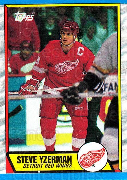 1989-90 Topps Box Bottoms #L Steve Yzerman<br/>1 In Stock - $5.00 each - <a href=https://centericecollectibles.foxycart.com/cart?name=1989-90%20Topps%20Box%20Bottoms%20%23L%20Steve%20Yzerman...&price=$5.00&code=384487 class=foxycart> Buy it now! </a>