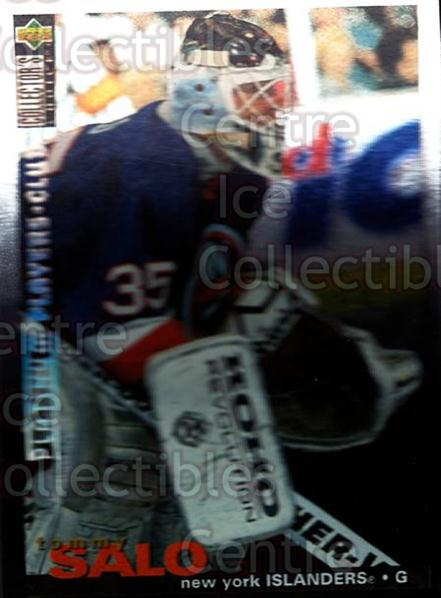 1995-96 Collectors Choice Players Club Platinum #235 Tommy Salo<br/>1 In Stock - $3.00 each - <a href=https://centericecollectibles.foxycart.com/cart?name=1995-96%20Collectors%20Choice%20Players%20Club%20Platinum%20%23235%20Tommy%20Salo...&quantity_max=1&price=$3.00&code=38456 class=foxycart> Buy it now! </a>