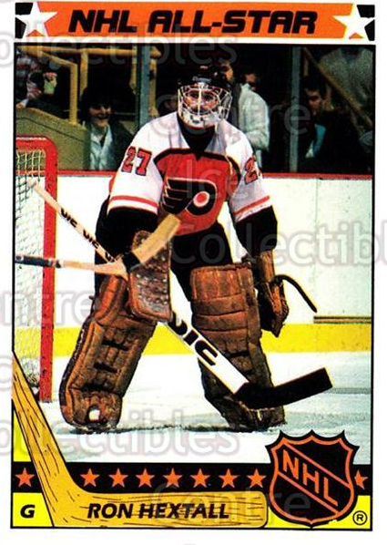 1987-88 Topps Stickers Insert #2 Ron Hextall<br/>1 In Stock - $2.00 each - <a href=https://centericecollectibles.foxycart.com/cart?name=1987-88%20Topps%20Stickers%20Insert%20%232%20Ron%20Hextall...&price=$2.00&code=384575 class=foxycart> Buy it now! </a>
