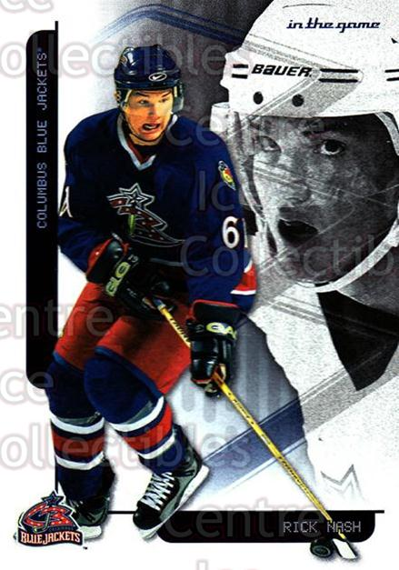 2003-04 Toronto Star Foil #23 Rick Nash<br/>4 In Stock - $2.00 each - <a href=https://centericecollectibles.foxycart.com/cart?name=2003-04%20Toronto%20Star%20Foil%20%2323%20Rick%20Nash...&quantity_max=4&price=$2.00&code=384602 class=foxycart> Buy it now! </a>