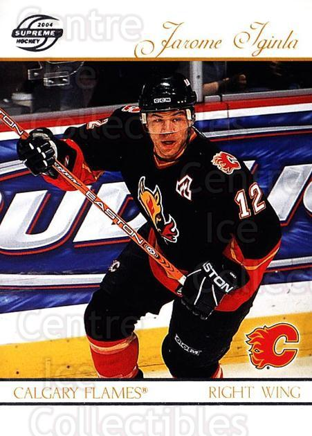 2003-04 Supreme Retail #13 Jarome Iginla<br/>1 In Stock - $1.00 each - <a href=https://centericecollectibles.foxycart.com/cart?name=2003-04%20Supreme%20Retail%20%2313%20Jarome%20Iginla...&quantity_max=1&price=$1.00&code=384659 class=foxycart> Buy it now! </a>