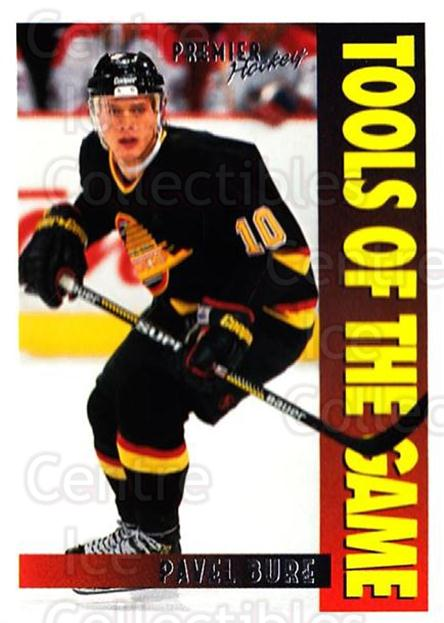 1994-95 OPC Premier #415 Pavel Bure<br/>3 In Stock - $1.00 each - <a href=https://centericecollectibles.foxycart.com/cart?name=1994-95%20OPC%20Premier%20%23415%20Pavel%20Bure...&quantity_max=3&price=$1.00&code=384682 class=foxycart> Buy it now! </a>