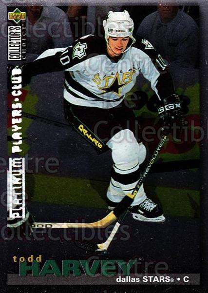 1995-96 Collectors Choice Players Club Platinum #251 Todd Harvey<br/>4 In Stock - $3.00 each - <a href=https://centericecollectibles.foxycart.com/cart?name=1995-96%20Collectors%20Choice%20Players%20Club%20Platinum%20%23251%20Todd%20Harvey...&quantity_max=4&price=$3.00&code=38471 class=foxycart> Buy it now! </a>