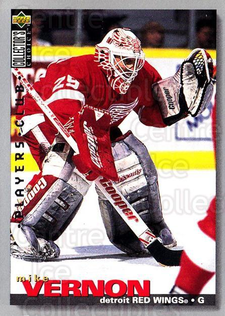 1995-96 Collectors Choice Players Club #100 Mike Vernon<br/>4 In Stock - $2.00 each - <a href=https://centericecollectibles.foxycart.com/cart?name=1995-96%20Collectors%20Choice%20Players%20Club%20%23100%20Mike%20Vernon...&quantity_max=4&price=$2.00&code=38481 class=foxycart> Buy it now! </a>