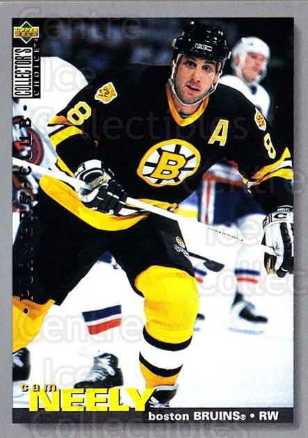 1995-96 Collectors Choice Players Club #102 Cam Neely<br/>5 In Stock - $2.00 each - <a href=https://centericecollectibles.foxycart.com/cart?name=1995-96%20Collectors%20Choice%20Players%20Club%20%23102%20Cam%20Neely...&quantity_max=5&price=$2.00&code=38483 class=foxycart> Buy it now! </a>