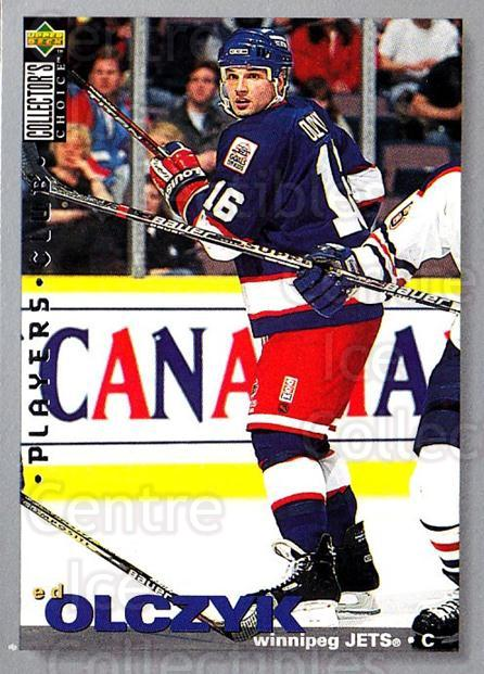 1995-96 Collectors Choice Players Club #106 Ed Olczyk<br/>5 In Stock - $2.00 each - <a href=https://centericecollectibles.foxycart.com/cart?name=1995-96%20Collectors%20Choice%20Players%20Club%20%23106%20Ed%20Olczyk...&quantity_max=5&price=$2.00&code=38487 class=foxycart> Buy it now! </a>