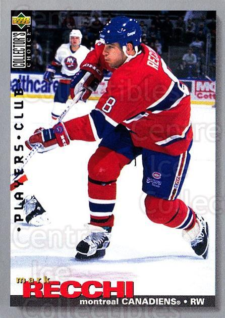 1995-96 Collectors Choice Players Club #108 Mark Recchi<br/>4 In Stock - $2.00 each - <a href=https://centericecollectibles.foxycart.com/cart?name=1995-96%20Collectors%20Choice%20Players%20Club%20%23108%20Mark%20Recchi...&quantity_max=4&price=$2.00&code=38489 class=foxycart> Buy it now! </a>