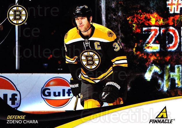 2011-12 Pinnacle #33 Zdeno Chara<br/>4 In Stock - $1.00 each - <a href=https://centericecollectibles.foxycart.com/cart?name=2011-12%20Pinnacle%20%2333%20Zdeno%20Chara...&quantity_max=4&price=$1.00&code=384950 class=foxycart> Buy it now! </a>