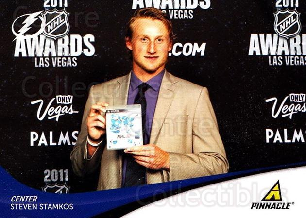 2011-12 Pinnacle #91 Steven Stamkos<br/>3 In Stock - $2.00 each - <a href=https://centericecollectibles.foxycart.com/cart?name=2011-12%20Pinnacle%20%2391%20Steven%20Stamkos...&quantity_max=3&price=$2.00&code=385008 class=foxycart> Buy it now! </a>