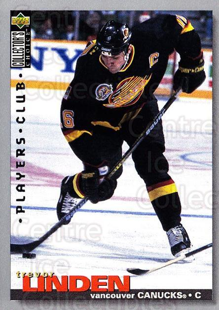 1995-96 Collectors Choice Players Club #122 Trevor Linden<br/>5 In Stock - $2.00 each - <a href=https://centericecollectibles.foxycart.com/cart?name=1995-96%20Collectors%20Choice%20Players%20Club%20%23122%20Trevor%20Linden...&quantity_max=5&price=$2.00&code=38504 class=foxycart> Buy it now! </a>