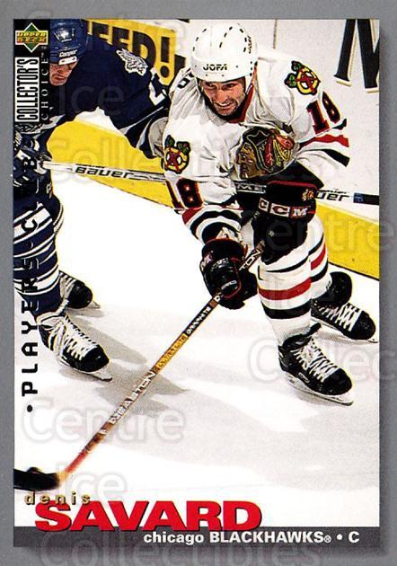 1995-96 Collectors Choice Players Club #132 Denis Savard<br/>2 In Stock - $2.00 each - <a href=https://centericecollectibles.foxycart.com/cart?name=1995-96%20Collectors%20Choice%20Players%20Club%20%23132%20Denis%20Savard...&quantity_max=2&price=$2.00&code=38514 class=foxycart> Buy it now! </a>