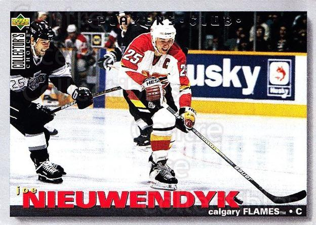 1995-96 Collectors Choice Players Club #133 Joe Nieuwendyk<br/>5 In Stock - $2.00 each - <a href=https://centericecollectibles.foxycart.com/cart?name=1995-96%20Collectors%20Choice%20Players%20Club%20%23133%20Joe%20Nieuwendyk...&quantity_max=5&price=$2.00&code=38515 class=foxycart> Buy it now! </a>