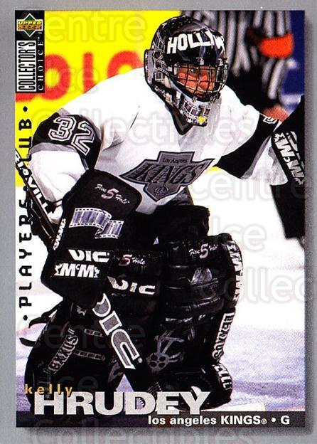 1995-96 Collectors Choice Players Club #147 Kelly Hrudey<br/>5 In Stock - $2.00 each - <a href=https://centericecollectibles.foxycart.com/cart?name=1995-96%20Collectors%20Choice%20Players%20Club%20%23147%20Kelly%20Hrudey...&quantity_max=5&price=$2.00&code=38529 class=foxycart> Buy it now! </a>