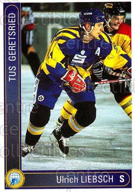 1994-95 German First League #141 Ultich Liebsch<br/>5 In Stock - $2.00 each - <a href=https://centericecollectibles.foxycart.com/cart?name=1994-95%20German%20First%20League%20%23141%20Ultich%20Liebsch...&quantity_max=5&price=$2.00&code=385359 class=foxycart> Buy it now! </a>