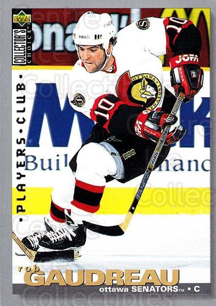 1995-96 Collectors Choice Players Club #158 Rob Gaudreau<br/>5 In Stock - $2.00 each - <a href=https://centericecollectibles.foxycart.com/cart?name=1995-96%20Collectors%20Choice%20Players%20Club%20%23158%20Rob%20Gaudreau...&quantity_max=5&price=$2.00&code=38540 class=foxycart> Buy it now! </a>