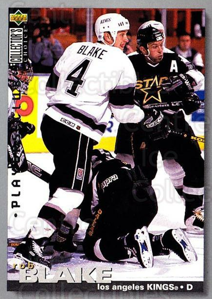 1995-96 Collectors Choice Players Club #160 Rob Blake<br/>5 In Stock - $2.00 each - <a href=https://centericecollectibles.foxycart.com/cart?name=1995-96%20Collectors%20Choice%20Players%20Club%20%23160%20Rob%20Blake...&quantity_max=5&price=$2.00&code=38542 class=foxycart> Buy it now! </a>