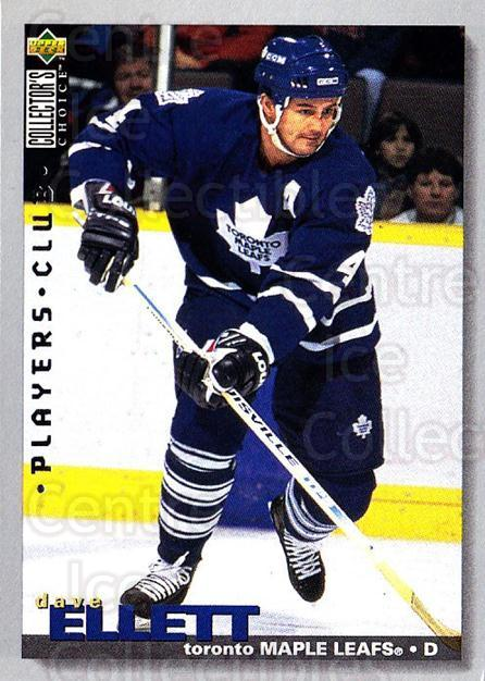 1995-96 Collectors Choice Players Club #162 Dave Ellett<br/>5 In Stock - $2.00 each - <a href=https://centericecollectibles.foxycart.com/cart?name=1995-96%20Collectors%20Choice%20Players%20Club%20%23162%20Dave%20Ellett...&quantity_max=5&price=$2.00&code=38544 class=foxycart> Buy it now! </a>