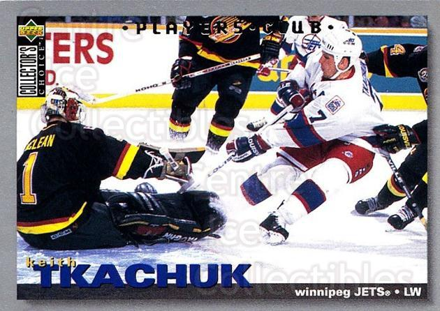 1995-96 Collectors Choice Players Club #168 Keith Tkachuk<br/>5 In Stock - $2.00 each - <a href=https://centericecollectibles.foxycart.com/cart?name=1995-96%20Collectors%20Choice%20Players%20Club%20%23168%20Keith%20Tkachuk...&quantity_max=5&price=$2.00&code=38550 class=foxycart> Buy it now! </a>