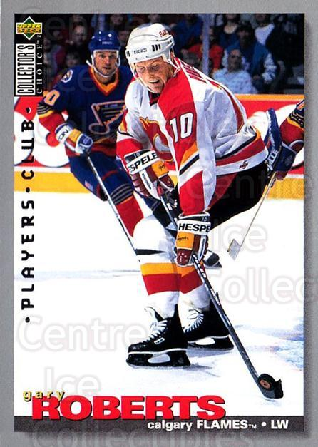1995-96 Collectors Choice Players Club #174 Gary Roberts<br/>3 In Stock - $2.00 each - <a href=https://centericecollectibles.foxycart.com/cart?name=1995-96%20Collectors%20Choice%20Players%20Club%20%23174%20Gary%20Roberts...&quantity_max=3&price=$2.00&code=38557 class=foxycart> Buy it now! </a>