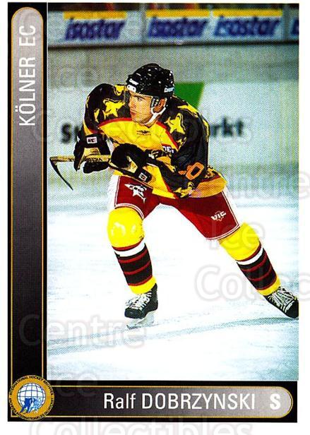1994-95 German DEL #209 Ralf Dobrzynski<br/>4 In Stock - $2.00 each - <a href=https://centericecollectibles.foxycart.com/cart?name=1994-95%20German%20DEL%20%23209%20Ralf%20Dobrzynski...&price=$2.00&code=385585 class=foxycart> Buy it now! </a>