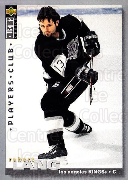1995-96 Collectors Choice Players Club #175 Robert Lang<br/>5 In Stock - $2.00 each - <a href=https://centericecollectibles.foxycart.com/cart?name=1995-96%20Collectors%20Choice%20Players%20Club%20%23175%20Robert%20Lang...&quantity_max=5&price=$2.00&code=38558 class=foxycart> Buy it now! </a>