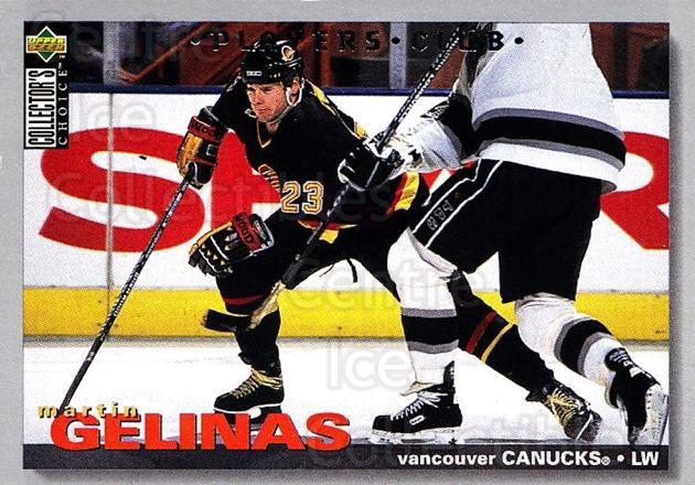 1995-96 Collectors Choice Players Club #176 Martin Gelinas<br/>5 In Stock - $2.00 each - <a href=https://centericecollectibles.foxycart.com/cart?name=1995-96%20Collectors%20Choice%20Players%20Club%20%23176%20Martin%20Gelinas...&quantity_max=5&price=$2.00&code=38559 class=foxycart> Buy it now! </a>