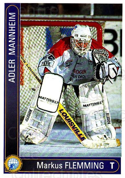 1994-95 German DEL #288 Markus Flemming<br/>3 In Stock - $2.00 each - <a href=https://centericecollectibles.foxycart.com/cart?name=1994-95%20German%20DEL%20%23288%20Markus%20Flemming...&quantity_max=3&price=$2.00&code=385664 class=foxycart> Buy it now! </a>