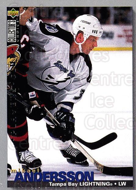 1995-96 Collectors Choice Players Club #182 Mikael Andersson<br/>5 In Stock - $2.00 each - <a href=https://centericecollectibles.foxycart.com/cart?name=1995-96%20Collectors%20Choice%20Players%20Club%20%23182%20Mikael%20Andersso...&quantity_max=5&price=$2.00&code=38566 class=foxycart> Buy it now! </a>