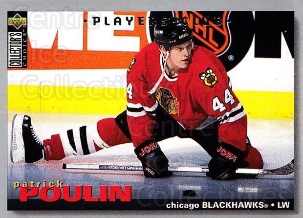 1995-96 Collectors Choice Players Club #187 Patrick Poulin<br/>4 In Stock - $2.00 each - <a href=https://centericecollectibles.foxycart.com/cart?name=1995-96%20Collectors%20Choice%20Players%20Club%20%23187%20Patrick%20Poulin...&quantity_max=4&price=$2.00&code=38571 class=foxycart> Buy it now! </a>