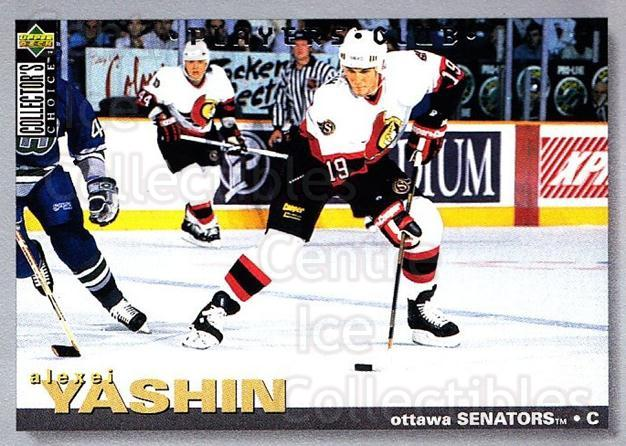 1995-96 Collectors Choice Players Club #189 Alexei Yashin<br/>4 In Stock - $2.00 each - <a href=https://centericecollectibles.foxycart.com/cart?name=1995-96%20Collectors%20Choice%20Players%20Club%20%23189%20Alexei%20Yashin...&quantity_max=4&price=$2.00&code=38573 class=foxycart> Buy it now! </a>