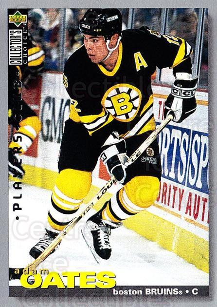 1995-96 Collectors Choice Players Club #197 Adam Oates<br/>5 In Stock - $2.00 each - <a href=https://centericecollectibles.foxycart.com/cart?name=1995-96%20Collectors%20Choice%20Players%20Club%20%23197%20Adam%20Oates...&quantity_max=5&price=$2.00&code=38582 class=foxycart> Buy it now! </a>
