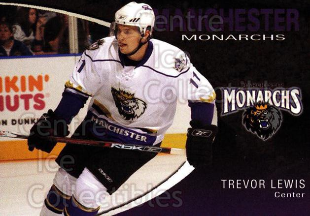 2007-08 Manchester Monarchs #13 Trevor Lewis<br/>4 In Stock - $3.00 each - <a href=https://centericecollectibles.foxycart.com/cart?name=2007-08%20Manchester%20Monarchs%20%2313%20Trevor%20Lewis...&quantity_max=4&price=$3.00&code=385853 class=foxycart> Buy it now! </a>