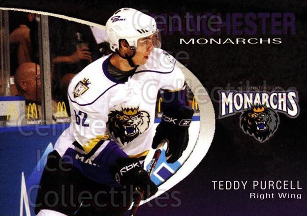 2007-08 Manchester Monarchs #19 Teddy Purcell<br/>1 In Stock - $3.00 each - <a href=https://centericecollectibles.foxycart.com/cart?name=2007-08%20Manchester%20Monarchs%20%2319%20Teddy%20Purcell...&quantity_max=1&price=$3.00&code=385859 class=foxycart> Buy it now! </a>
