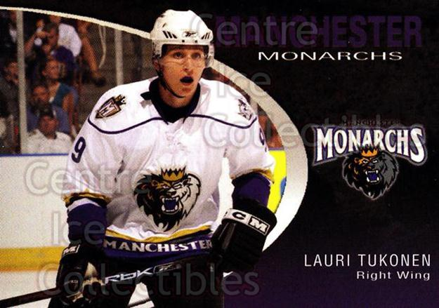 2007-08 Manchester Monarchs #21 Lauri Tukonen<br/>1 In Stock - $3.00 each - <a href=https://centericecollectibles.foxycart.com/cart?name=2007-08%20Manchester%20Monarchs%20%2321%20Lauri%20Tukonen...&quantity_max=1&price=$3.00&code=385861 class=foxycart> Buy it now! </a>