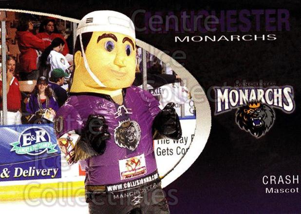 2007-08 Manchester Monarchs #23 Mascot<br/>4 In Stock - $3.00 each - <a href=https://centericecollectibles.foxycart.com/cart?name=2007-08%20Manchester%20Monarchs%20%2323%20Mascot...&quantity_max=4&price=$3.00&code=385863 class=foxycart> Buy it now! </a>