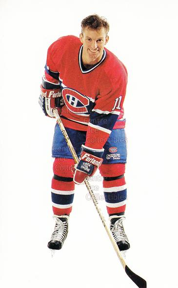 1992-93 Montreal Canadiens Postcards #21 Kirk Muller<br/>2 In Stock - $3.00 each - <a href=https://centericecollectibles.foxycart.com/cart?name=1992-93%20Montreal%20Canadiens%20Postcards%20%2321%20Kirk%20Muller...&quantity_max=2&price=$3.00&code=385881 class=foxycart> Buy it now! </a>