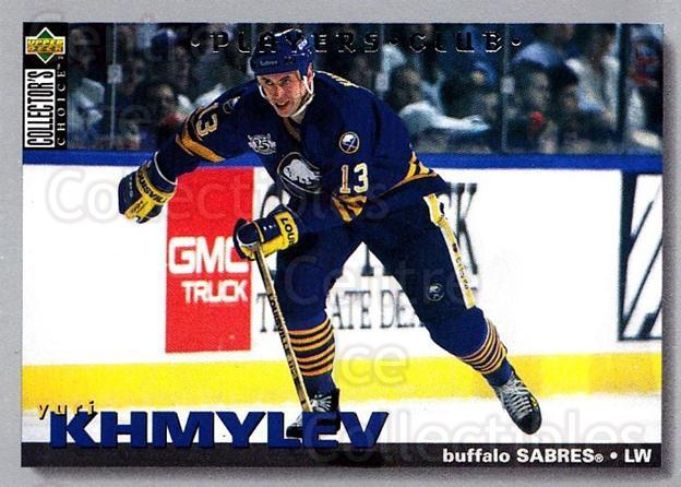 1995-96 Collectors Choice Players Club #23 Yuri Khmylev<br/>5 In Stock - $2.00 each - <a href=https://centericecollectibles.foxycart.com/cart?name=1995-96%20Collectors%20Choice%20Players%20Club%20%2323%20Yuri%20Khmylev...&quantity_max=5&price=$2.00&code=38616 class=foxycart> Buy it now! </a>