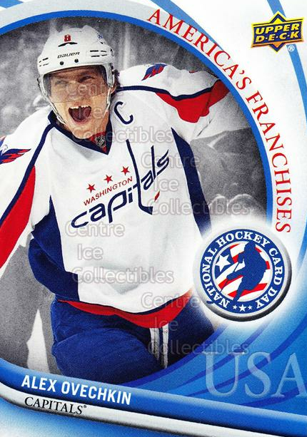 2012 Upper Deck National Hockey Card Day USA #2 Alexander Ovechkin<br/>15 In Stock - $2.00 each - <a href=https://centericecollectibles.foxycart.com/cart?name=2012%20Upper%20Deck%20National%20Hockey%20Card%20Day%20USA%20%232%20Alexander%20Ovech...&price=$2.00&code=386313 class=foxycart> Buy it now! </a>