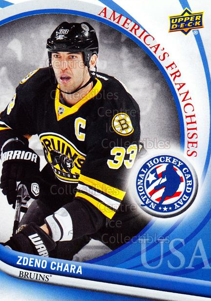 2012 Upper Deck National Hockey Card Day USA #6 Zdeno Chara<br/>14 In Stock - $2.00 each - <a href=https://centericecollectibles.foxycart.com/cart?name=2012%20Upper%20Deck%20National%20Hockey%20Card%20Day%20USA%20%236%20Zdeno%20Chara...&quantity_max=14&price=$2.00&code=386317 class=foxycart> Buy it now! </a>