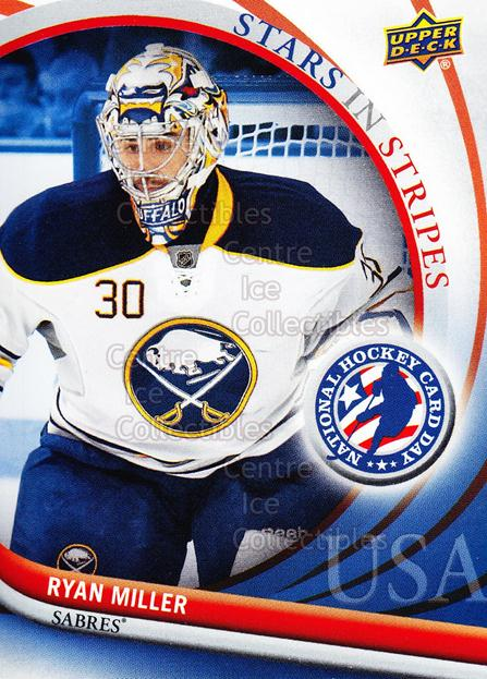 2012 Upper Deck National Hockey Card Day USA #9 Ryan Miller<br/>12 In Stock - $2.00 each - <a href=https://centericecollectibles.foxycart.com/cart?name=2012%20Upper%20Deck%20National%20Hockey%20Card%20Day%20USA%20%239%20Ryan%20Miller...&quantity_max=12&price=$2.00&code=386320 class=foxycart> Buy it now! </a>