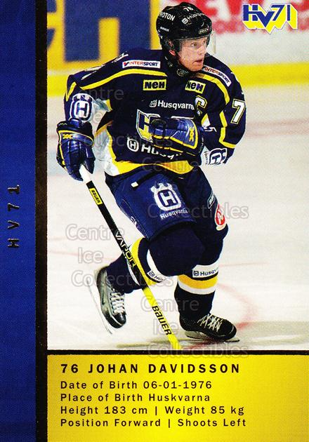 2005-06 Swedish Elitset Teammates #5 Johan Davidsson, Mattias Remstam<br/>1 In Stock - $3.00 each - <a href=https://centericecollectibles.foxycart.com/cart?name=2005-06%20Swedish%20Elitset%20Teammates%20%235%20Johan%20Davidsson...&price=$3.00&code=386333 class=foxycart> Buy it now! </a>