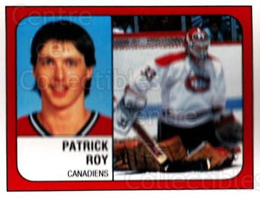 1988-89 Panini Stickers #252 Patrick Roy<br/>1 In Stock - $5.00 each - <a href=https://centericecollectibles.foxycart.com/cart?name=1988-89%20Panini%20Stickers%20%23252%20Patrick%20Roy...&price=$5.00&code=386528 class=foxycart> Buy it now! </a>