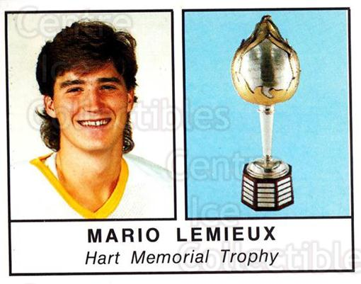 1988-89 Panini Stickers #400 Hart Trophy, Mario Lemieux<br/>1 In Stock - $5.00 each - <a href=https://centericecollectibles.foxycart.com/cart?name=1988-89%20Panini%20Stickers%20%23400%20Hart%20Trophy,%20Ma...&price=$5.00&code=386534 class=foxycart> Buy it now! </a>