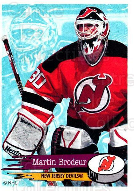1995-96 Panini Stickers #90 Martin Brodeur<br/>1 In Stock - $3.00 each - <a href=https://centericecollectibles.foxycart.com/cart?name=1995-96%20Panini%20Stickers%20%2390%20Martin%20Brodeur...&price=$3.00&code=386540 class=foxycart> Buy it now! </a>