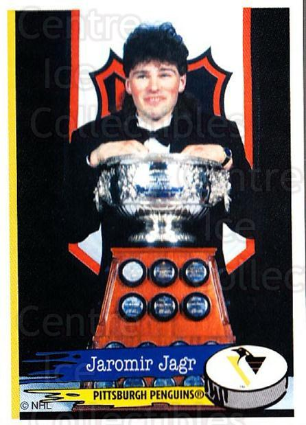 1995-96 Panini Stickers #150 Jaromir Jagr<br/>1 In Stock - $2.00 each - <a href=https://centericecollectibles.foxycart.com/cart?name=1995-96%20Panini%20Stickers%20%23150%20Jaromir%20Jagr...&quantity_max=1&price=$2.00&code=386542 class=foxycart> Buy it now! </a>