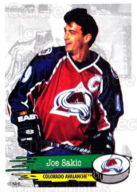 1995-96 Panini Stickers #246 Joe Sakic<br/>1 In Stock - $3.00 each - <a href=https://centericecollectibles.foxycart.com/cart?name=1995-96%20Panini%20Stickers%20%23246%20Joe%20Sakic...&quantity_max=1&price=$3.00&code=386549 class=foxycart> Buy it now! </a>